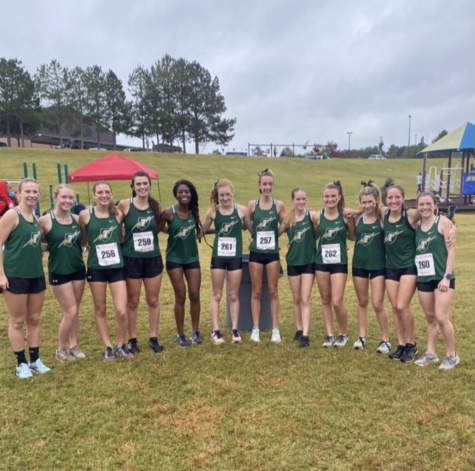 Girls Cross Country: Breaking Records